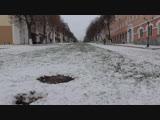 СЕГОДНЯ ПЕРВЫЙ СНЕГ В ГОРОДЕ ОРЛЕ, 18.11.2018 год, город Орёл