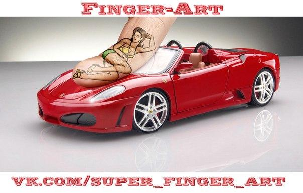 рисунки на пальцах: