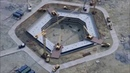 Строительство Лахта Центра Котлован для фундамента