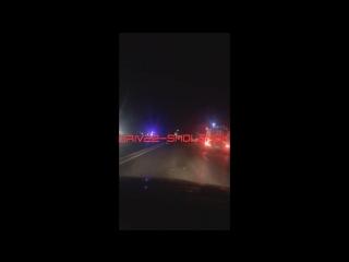 В Смоленской области водитель погиб при столкновении двух фур