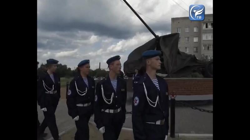 В центре Сокола установлен мемориальный комплекс героям-зенитчикам