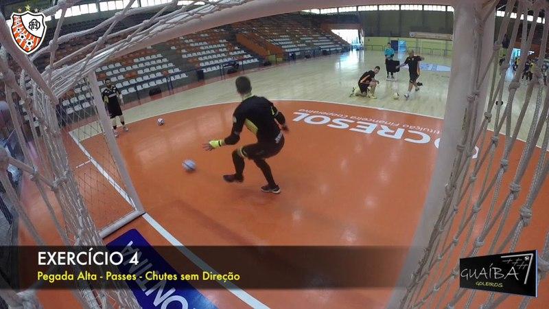 GUAIBA GOLEIROS - VEL. DE REAÇÃO Pré -Jogo - ACBF 2018