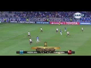 Cruzeiro vs Flamengo. Resumen Goles Copa Libertadores 2018 - HD
