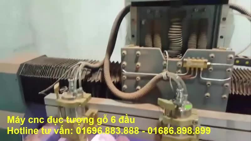 Máy đục tượng CNC 2614-6 đầu năng suất cao