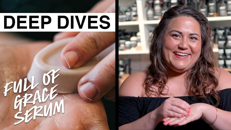 Lush Deep Dives Full Of Grace Our packaging free naked serum