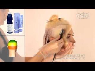 Пошаговая инструкция по работе с краской для волос Sense. Часть 1