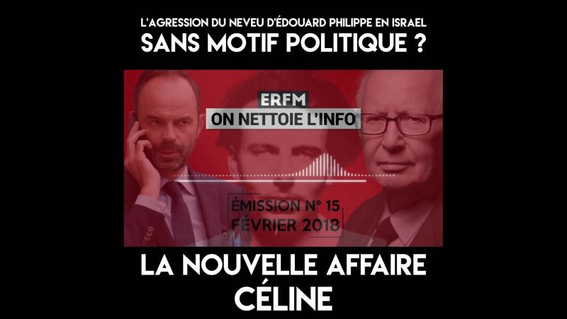 Le neveu dÉdouard Philippe poignardé en Israël à cause de Céline