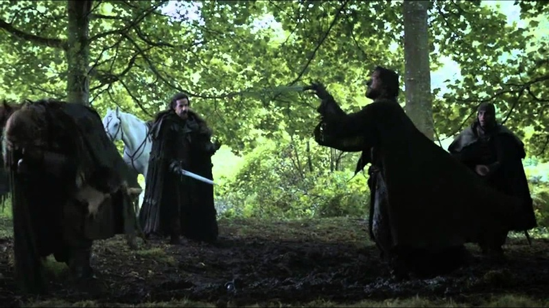 Game of Thrones (S03E04) - Jaime humiliated by Locke and the Boltons