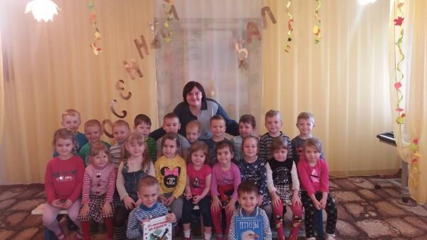 Донецкая республиканская библиотека для детей, мир  птиц, отдел внестационарного обслуживания, занятия с детьми