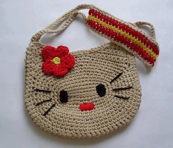 детские сумочки вязаные