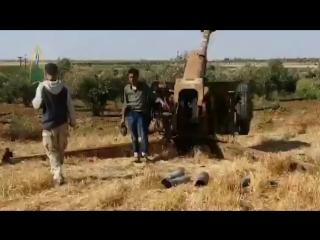 Сса обстреливают правительственные войска в тафасе