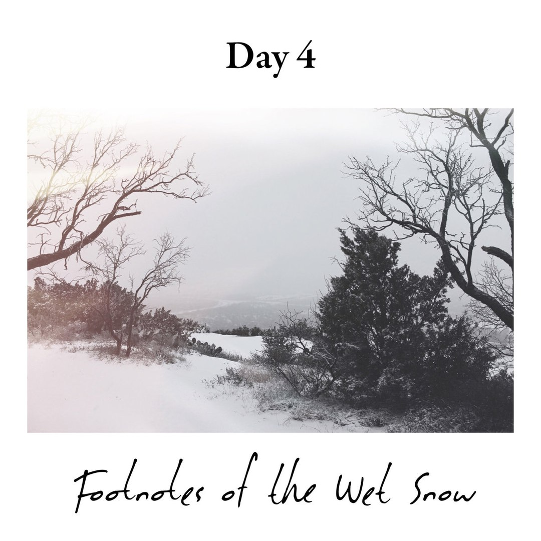 Day 4 - Footnotes Of The Wet Snow [EP] (2016)
