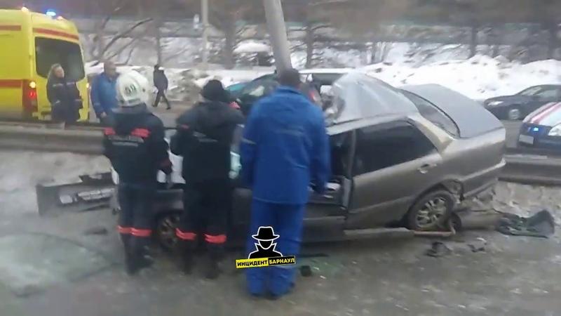 Смертельное ДТП на трассе Барнаул - Новосибирск (Инцидент Барнаул)