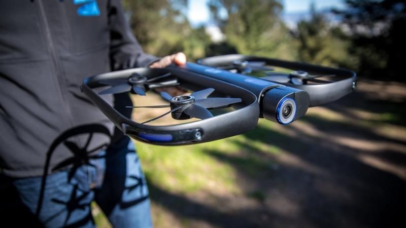 Автономный дрон с 13 камерами, летающий в самых сложных условиях
