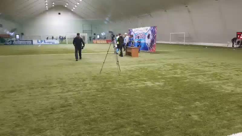 Награждение победителей Белгородского обласного турнира Народня лига 45