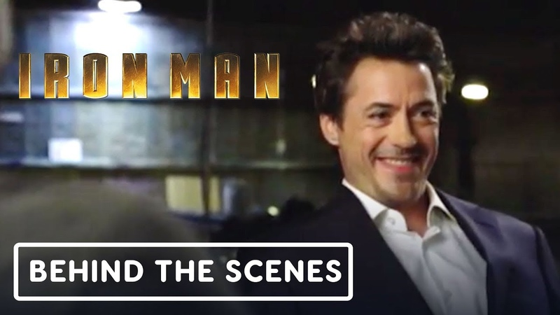 Avengers Endgame Robert Downey Jr 's Iron Man Screen Test