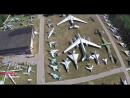 Музей ВВС с высоты птичьего полета.