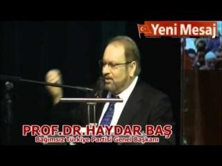 Velayet yolu Imam Ali ve Ehl-i Beyt / Prof.Dr.Haydar Bas / Milli Kahramanlar Kocaeli 17.11.2013