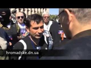 Предателю Ходорковскому в Донецке дали от ворот поворот