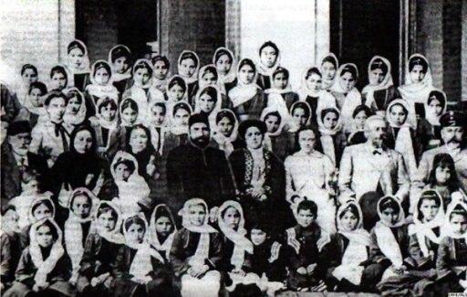 Первая женская мусульманская школа на Кавказе