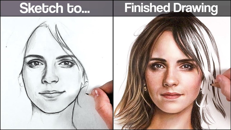 Get an ACCURATE Sketch EVERY TIME with this TECHNIQUE