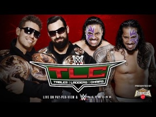 WWE 2K15 The Miz & Mizdow (c) vs The Usos (Match for the Tag Team Titles) TLC 2014