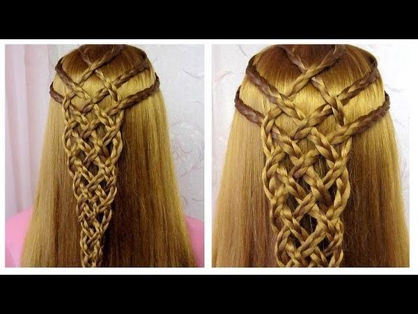 Coiffure pour tous les jours cheveux long/mi long 💎 facile à faire 💎 Coiffure avec tresses