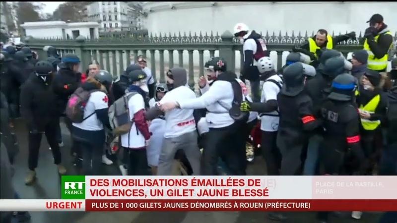 On aurait dit une élimination de leader Eric Drouet réagit à la blessure de Jérôme Rodrigues