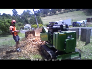 Big stump removal