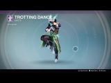 Destiny_20180127 GREEN WARLOCK . TROTTING DANCE .