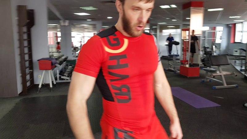 Функциональный тренинг. Functional training. (медбол)