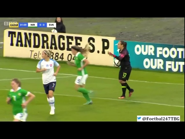 Northern Ireland vs Slovakia - Group 3 World Cup Qualifier (4th September 2018)