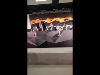 Послематчевая пресс-конференция Рауля Рианчо