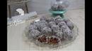 Турецкие морковные шарики с шоколадной бисквитной крошкой, миндалем (грецкими орехами), в кокосовой стружке / Bisküvili Havuç Topları tarifi I 3 Malzemeyle Tatli krizine en kolay care