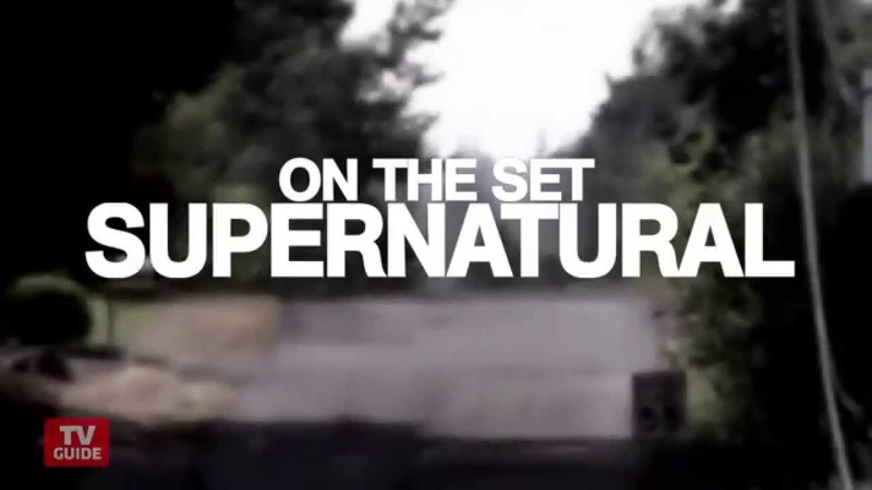 Supernatural: Go inside Sam and Dean's Impala! On the Set