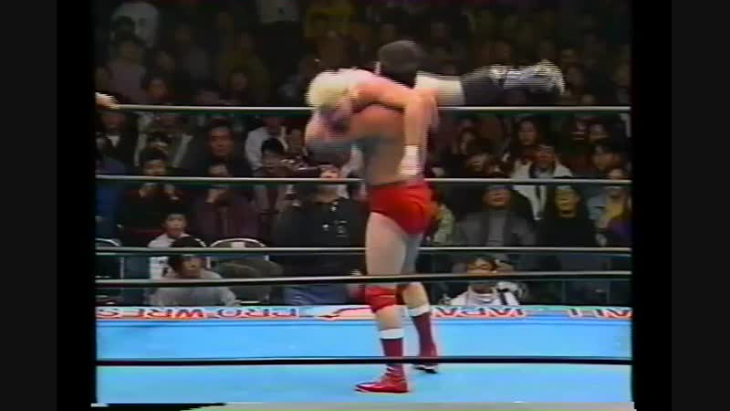 1994.01.25 - Toshiaki Kawada/Akira Taue/Takao Omori vs. Stan Hansen/John Nord/Brian Costello [JIP]