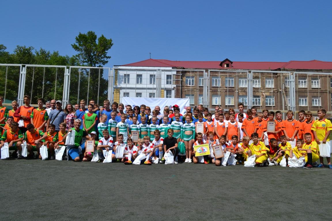 «Чемпион моего двора» - Донецк определил победителей