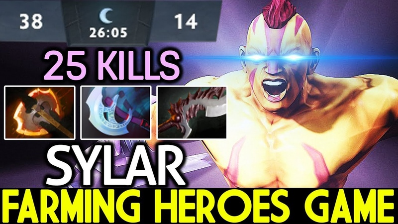 Sylar [Anti Mage] Farming Heroes Game One Kill per Min 7.20 Dot 2