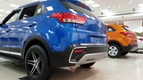 Hyundai Creta with Brutal Custom Alloy and BumperMarina Blue,Passion Orange,Polar White 4K 60FPS