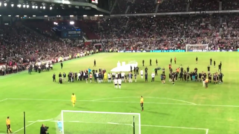 Soccer Aid 2018 Penalty Shootout
