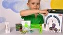 игрушки антистресс mokuru, спинер, кубик рубик, куб и новая игрушка кинетические кольца