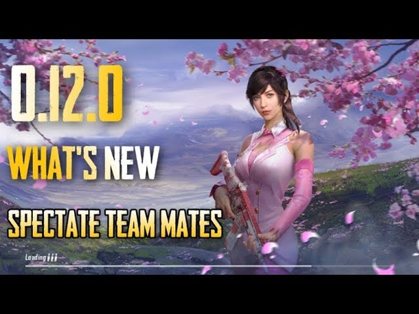 PUBG Mobile 0 12 UPDATE TAMIL What's New New Zombie Mode Spec friends New Companion and MORE
