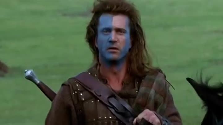 ''Храброе сердце'' (''Braveheart'') 1995. Фильм Мела Гибсона HDRip