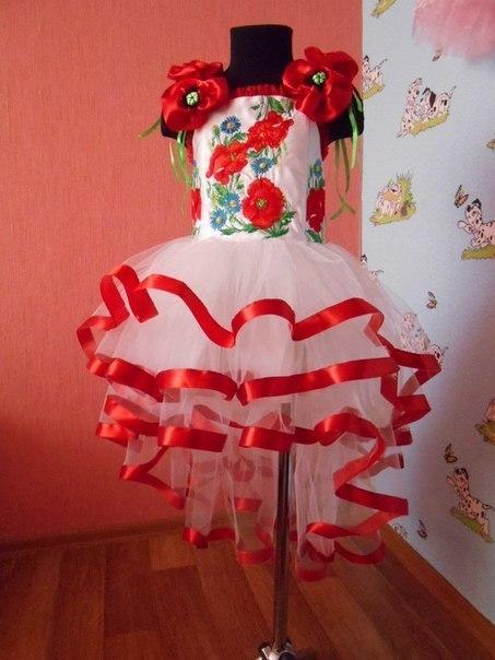 Платье на выпускной в детский сад украинские