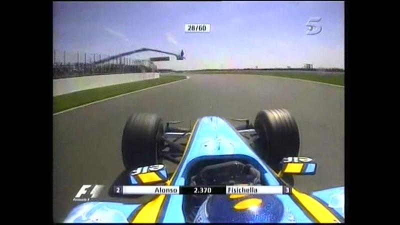 11.Carrera F1 Gp Inglaterra 2005