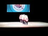 Группа Ю.Sтэйс СШ №22 на 3м международном фестивале