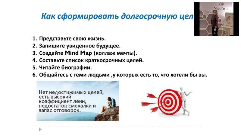 Как ставить цели и не сворачивать с намеченного пути-Ульяна Божко