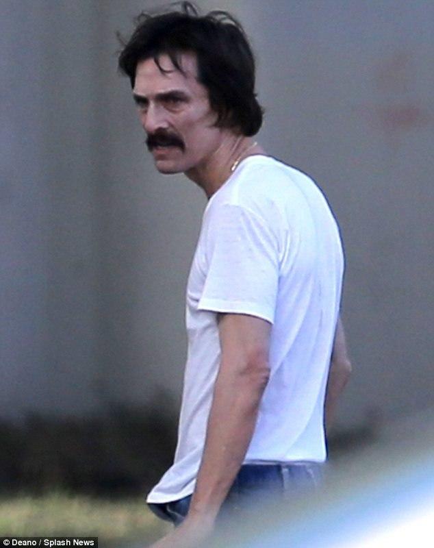 Так актер выглядел во время съемок фильма