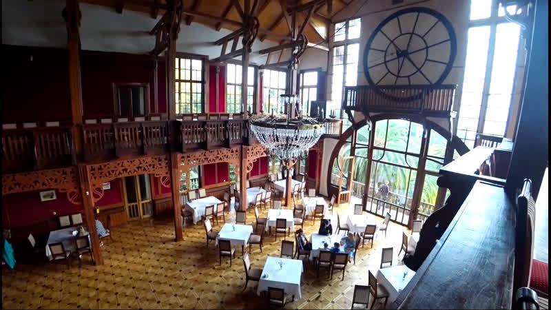 Замок Принца Ольденбургского. Заброшенный санаторий Грузия. Пещера Святого Ипатия. Ресторан Гагрипш, Гагра. Абхазия , Гагры.