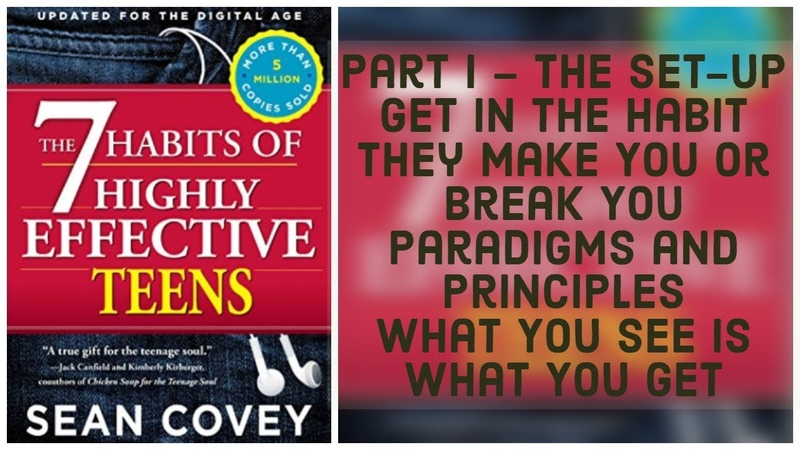 The 7 Habits Of Highly Effective Teen Part 1 audiobook 🎧📖 sean covey 🌟